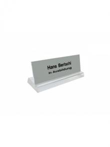 Stellschild WUWI, 2-zeilig, 120 mm