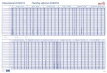 Tableau de planning saisonnier BEREC B-5701 / 2021
