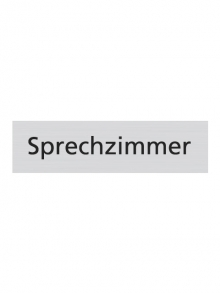 WUWI Standard-Schild - Sprechzimmer