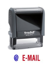 "TRODAT Office Printy 4.0, ""E-MAIL"""