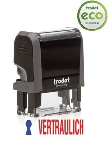TRODAT Office Printy VERTRAULICH